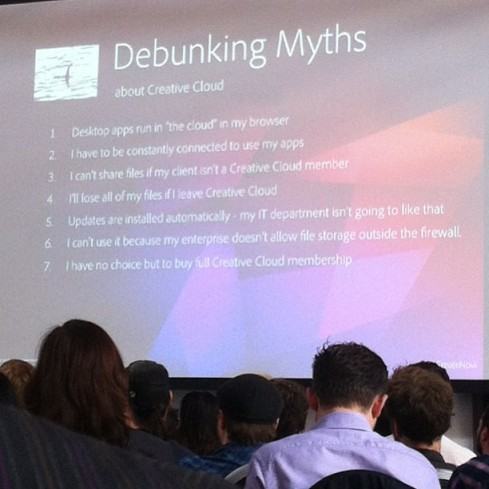 Creative Cloud Debunking Myths.