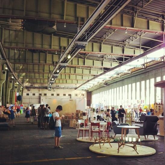 Exhibition space.