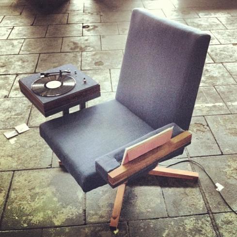 Vinysess Lounge Set by Lieven Hendrickx.