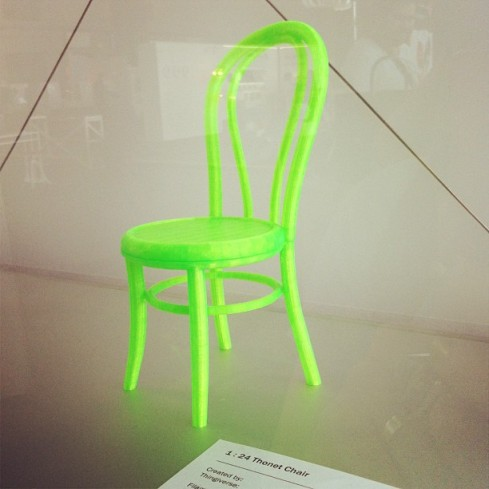 Thonet Chair by MakerBot.