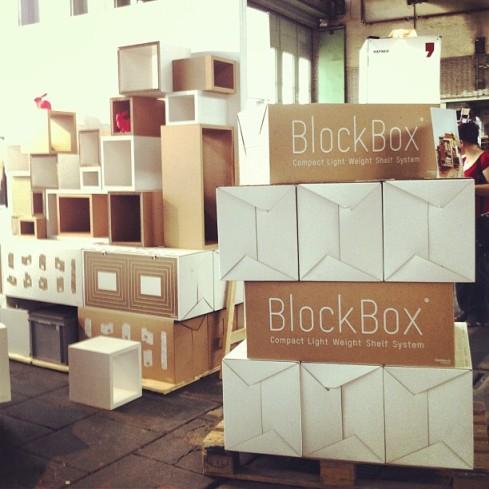 Shelf System by BlockBox.