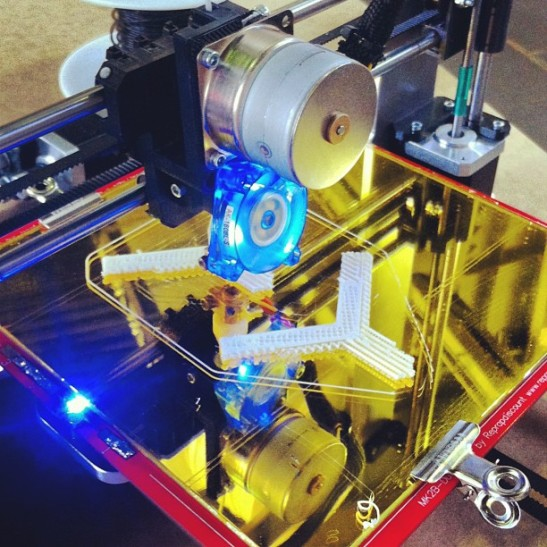 Build your own 3D printer with open3Dengineering.