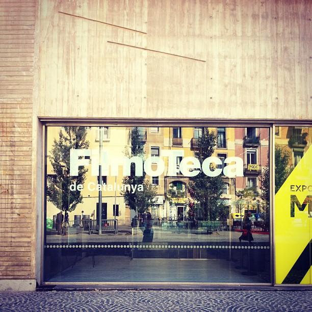 Spots to Visit in Barcelona, Spain: Filmoteca de Catalunya | Design Thinking Movie