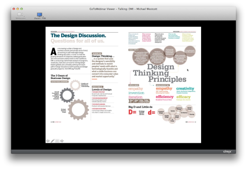 DMI Webinar - Designing Business & Education