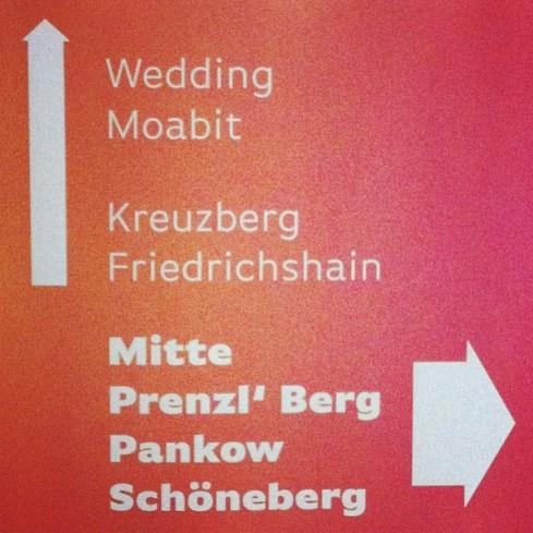 Signage at #sxc13.